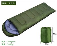 Wholesale Fleabag Camping Outdoor Sleeping Bag with compression sack Backpackers Hammock Campers Hiking Hill Walking Climbing