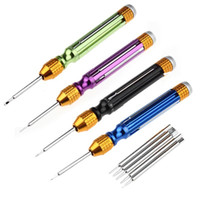 Wholesale 6 Set High Quality Repair Tools Open Screwdrivers For Mobile Phones Herramientas Colorful Set Of Screwdriver