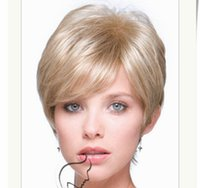 alternative america - Hot explosion models in Europe and America Kasi alternative solid short straight wig a generation of fat Amazon sw0442