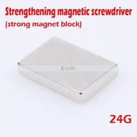 Wholesale 24G Large Strong Block Magnet Rare Earth Neodymium N35 Strong Magnets Craft