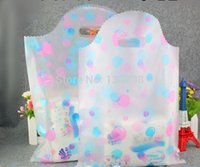 arc plastic bag - size cm arc shaped handle gift packing bags accessory pouch