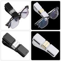 Wholesale Portable design small size Sunglasses Card Visor Pen Business Card Clip Holder