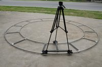 Wholesale Twzz Removable Annular Circular Camera Dolly Track With Dolly For SLR Video Camera Photography