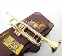 Wholesale ems Bach LT180S plano B profissional trumpet