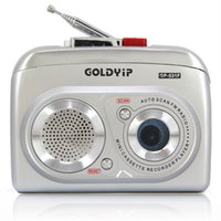 Wholesale 2015 New Goldyip GP F Walkman radio loud multiplayer tape cassette machine Consumer Electronics