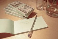 Wholesale Pieces Bill inch Dollar Memo Dollar Notepad Writing Pad stationery memo pad sheet