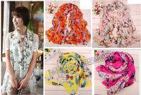 butterfly scarf silk - Hot Fashion Butterfly scarf women s scarf long shawl spring silk pashmina chiffon infinity scarf bz671642