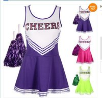 cheerleading uniforms - sexy Female student cheerleading apparel Cheerleading costumes Children s Day performance clothing taste uniforms Lara