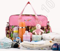 Wholesale 35PCS HHA461 Multifunctional Bolsa Maternidade Baby Diaper Bags Baby Nappy Bags Maternity Bags Lady Handbag Messenger Bags Diapering