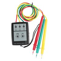 Wholesale Smart Digital Phase Rotation with LED Indicator Tester Meters SP8030 Brand New