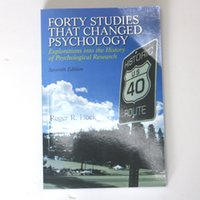 Wholesale 2016 new hot book Forty Studies That Changed Psychology Eeventh Edition
