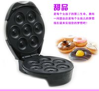 Wholesale 2016 New Time limited v w Emc Non stick Cooking Surface Hot Dog Waffle Machine Waffle Maker Donut Making Machine On Sale Maker