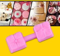 CE / EU Cake Moulds Silicone Turn sugar mold silicone Clover shape Resin Clay Chocolate Candy Cake Fondant Cake Decorating Tools Food Grade TY1751