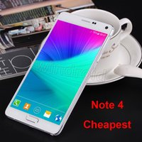 Wholesale Cheap Note N9100 MTK6572 Dual core Android Smart Cell Phone quot GB Show MP touch pen G Unlocked Mobile