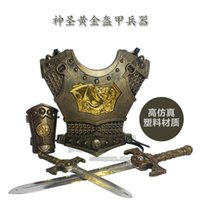 ancient war - Free shiping Retro game props ancient war classic Roman armor and equipment equipment Ares boy can wear