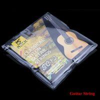 SC12 guitarra de seis cuerdas de nylon de plata de la galjanoplastia de Super Light para guitarra clásica acústica 6pcs / set