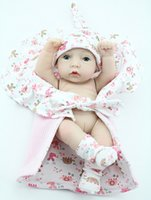 Wholesale 28cm Reborn Baby Dolls Soft Silicone Kids Toys Full Vinyl Bebe Doll Gift for Baby Girls or Boys Water Shower Toy peluche minnie
