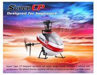 Hélicoptère Expédition Wholesale-Free <b>Walkera super</b> CP Flybarless 6CH 3-Axis Mini 3D AVEC DEVO 7E RTF