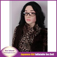 blow up - Hot Sale New Japanese Life Size Semi solid Inflatable Doll For Men Vaginal Removable Lifelike Blow Up Anal Love dolls Fedex