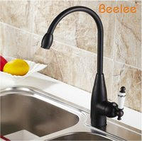 beelee faucet - Beelee BL7002B Kitchen Faucet Retro Black Bathroom Faucet Single Handle Deck Mounted Kitchen Vessel Sink Faucet