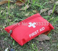 Wholesale Lowest Price Sets First Aid Kit For Outdoor Travel Sports Emergency Survival Indoor Or Car Treatment Pack Bag TJ68