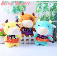 baby doll cattle - Calf Cattle Toy For Child Doll Stuffed Toy For Baby Plush Doll Gift For Kid Toy Hobbie Brinquedo Juguete Pelucia