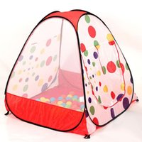 Wholesale Dot tent child outdoor tent game house educational toys big multicolour ball