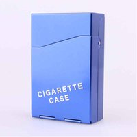 Wholesale New Listing Metal Aluminum Alloy Cigarette Box Case Storage Boxes