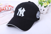 new york hats - Any color for baseball New York NY Yankees cap hat Cotton Spring Summer Fall Woman Man Fashion Design