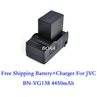 jvc video camera - V mAh BN VG138 Decoded Video digital Camera DATA Battery Charger for JVC GZ E77 GZ E100 GZ E110 GZ E105