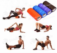 Wholesale 33x14cm Foam Massage Roller Yoga Gym Pilates Fitness Exercise Training Trigger Point Beauty Free DHL Factory Direct