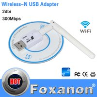 Wholesale USB Wifi Lan Adapter Mini M USB WiFi WPS Wireless Network Networking Card With DB Antenna Signal stronger Wi Fi
