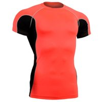 Wholesale Brand jersey mma martial arts shirt running tight second skin fitness art bodybuilding life track compression shirts