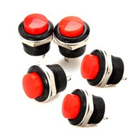 Wholesale High Quality Momentary On Off Push Buttons Horn Switch for Car Auto Red