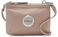 balsa color - MIMCO SECRET COUCH BALSA GENUINE LEATHER WOMENS BAG