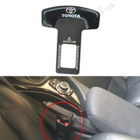 Wholesale 10pc Brand Seat Plug Buckle Black Car Covers Safety Belt Clip For Toyota Camry Corolla Mark X Highlander Prado Car Styling
