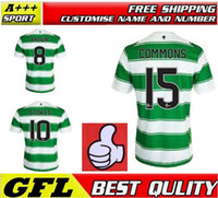 Wholesale Stock new Premier League STOKES Celtic FC JERSEY SOCER HOME BROWN MULGREW FORREST Top Thai Quality Glasgow City