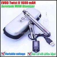 Cheap EVOD Twist 2 battery Best Aerotank MOW Atomizer