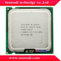 Wholesale Q9650 intel cpu intel core quad q9650 ghz mb mhz processor
