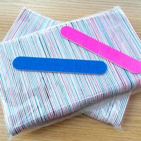 Wholesale 2016 explosion of ultra cheap sandpaper nail file nail professional Manicure wood grinding tool free postage