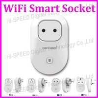 android iphone app - 2015 Orvibo EU US UK AU Standard Power Socket WiFi Smart Switch Travel Plug Socket Home Automation app for iphone Ipad Android Smartphones