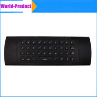 Wholesale Mini Wireless MX3 Wireless Remote Control GHz MX3 Air Fly Mouse in stock
