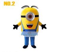 Unisex minion costume - Despicable me minion mascot costume for adults despicable me mascot costume