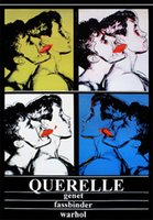 andy warhol pieces - 24X36 INCH ART SILK POSTER QUERELLE MOVIE POSTER PRINT JEAN GENET ANDY WARHOL