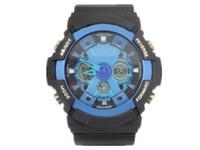 analog digital watches for men - 1pcs hot relogio G200 men s sports watches LED chronograph wristwatch military watch digital watch good gift for men boy dropship