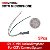 KZ-501D audio cable impedance - DC12V Power m2 Impedance CCTV Mini Microphone for Security Camera Audio Surveillance DVR CCTV Mic Audio Cable Audio Receiver
