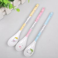 Wholesale Hot Sale Uiversal Mini Baby Children Spoons Long Spoon Household Utensils