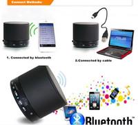 Altavoces S10 Aluminiu Bluetooth Wireless Altavoces portátiles Mini HI-FI Reproductor de música de Audio Gratis DHL Nota4 S6 Mp3 / 4 de la tableta