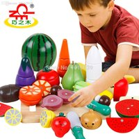 attract boy - Children s Favorite Simulation Fruits Vegetables Wooden Toys Colorful Interesting Toys Will Attract Baby s Atention
