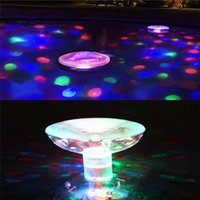 Wholesale Hot Sales Waterproof Decorative LED Lamp Lighting Color Changeable Floating For Disco Pub Home Bath Swimming Pool C469